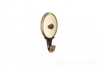 Крючок мебельный 77х34 мм